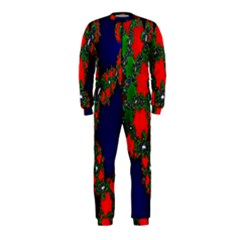 Recurring Circles In Shape Of Amphitheatre OnePiece Jumpsuit (Kids)