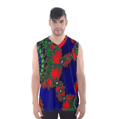 Recurring Circles In Shape Of Amphitheatre Men s Basketball Tank Top