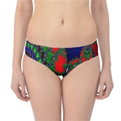 Recurring Circles In Shape Of Amphitheatre Hipster Bikini Bottoms
