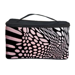 Abstract Fauna Pattern When Zebra And Giraffe Melt Together Cosmetic Storage Case