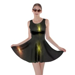 Star Lights Abstract Colourful Star Light Background Skater Dress