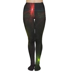 Star Lights Abstract Colourful Star Light Background Women s Tights