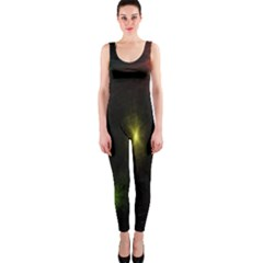 Star Lights Abstract Colourful Star Light Background OnePiece Catsuit
