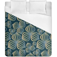 Gradient Flowers Abstract Background Duvet Cover (california King Size)