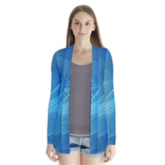 Colorful Guilloche Spiral Pattern Background Cardigans