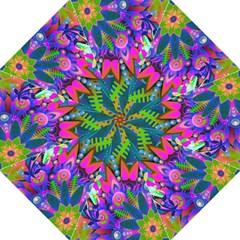 Wild Abstract Design Folding Umbrellas