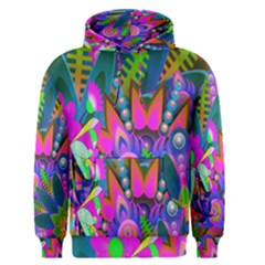 Wild Abstract Design Men s Pullover Hoodie