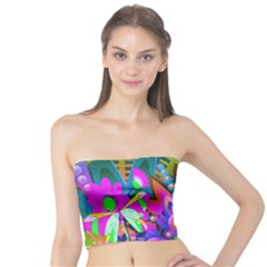 Wild Abstract Design Tube Top