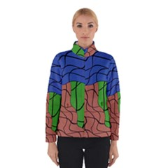 Abstract Art Mixed Colors Winterwear