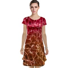 Background Water Abstract Red Wallpaper Cap Sleeve Nightdress