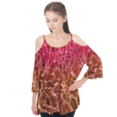 Background Water Abstract Red Wallpaper Flutter Tees