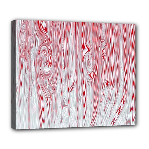 Abstract Swirling Pattern Background Wallpaper Pattern Deluxe Canvas 24  X 20