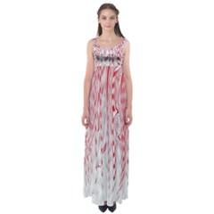 Abstract Swirling Pattern Background Wallpaper Pattern Empire Waist Maxi Dress