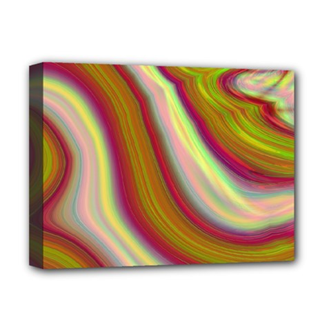 Artificial Colorful Lava Background Deluxe Canvas 16  X 12
