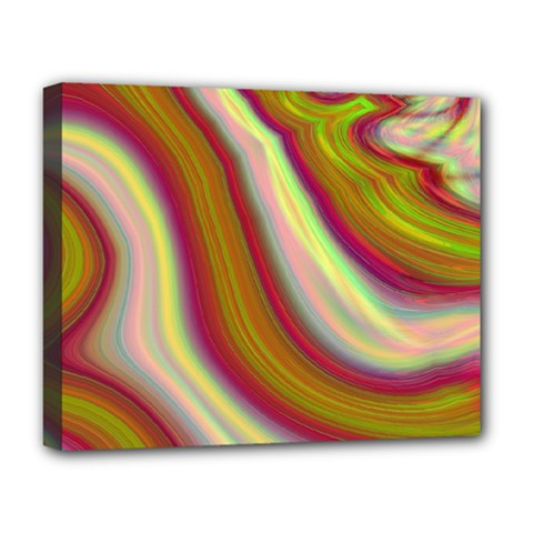 Artificial Colorful Lava Background Deluxe Canvas 20  X 16