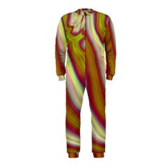 Artificial Colorful Lava Background Onepiece Jumpsuit (kids)