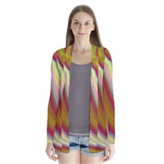 Artificial Colorful Lava Background Cardigans
