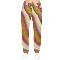 Artificial Colorful Lava Background Drawstring Pants