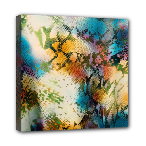 Abstract Color Splash Background Colorful Wallpaper Mini Canvas 8  X 8