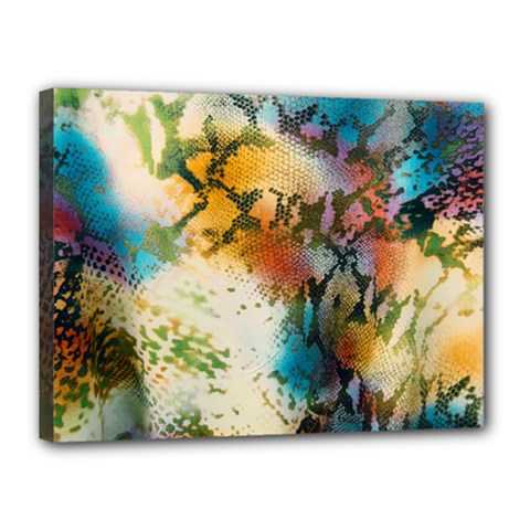 Abstract Color Splash Background Colorful Wallpaper Canvas 16  x 12