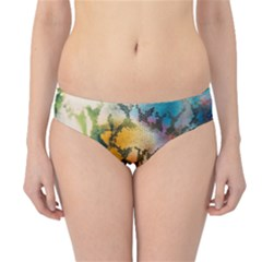 Abstract Color Splash Background Colorful Wallpaper Hipster Bikini Bottoms