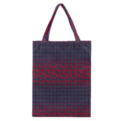 Abstract Tiling Pattern Background Classic Tote Bag