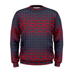 Abstract Tiling Pattern Background Men s Sweatshirt