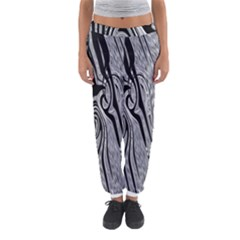 Abstract Swirling Pattern Background Wallpaper Women s Jogger Sweatpants