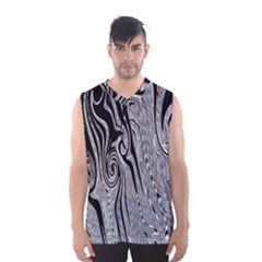 Abstract Swirling Pattern Background Wallpaper Men s Basketball Tank Top