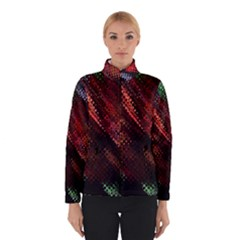 Abstract Green And Red Background Winterwear