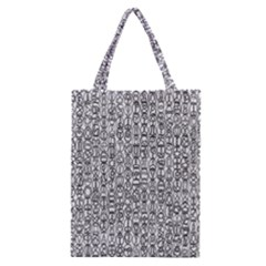 Abstract Knots Background Design Pattern Classic Tote Bag
