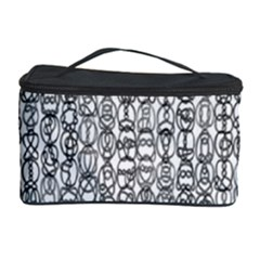 Abstract Knots Background Design Pattern Cosmetic Storage Case