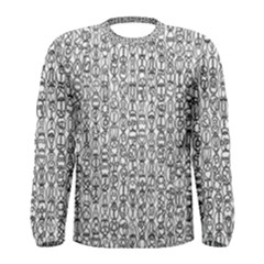 Abstract Knots Background Design Pattern Men s Long Sleeve Tee