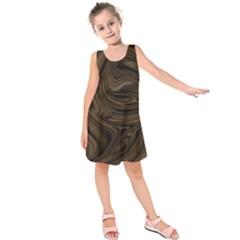 Abstract Art Kids  Sleeveless Dress