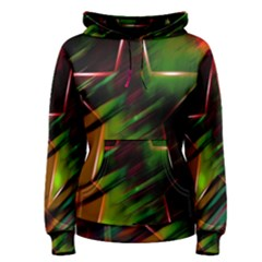 Colorful Background Star Women s Pullover Hoodie