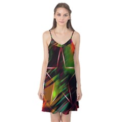 Colorful Background Star Camis Nightgown