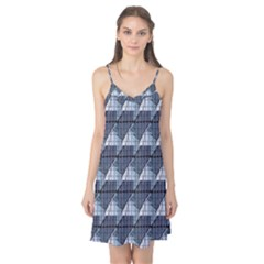 Snow Peak Abstract Blue Wallpaper Camis Nightgown