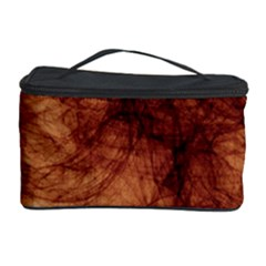 Abstract Brown Smoke Cosmetic Storage Case