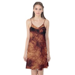 Abstract Brown Smoke Camis Nightgown