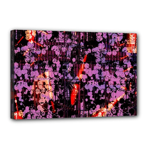 Abstract Painting Digital Graphic Art Canvas 18  x 12