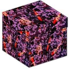 Abstract Painting Digital Graphic Art Storage Stool 12