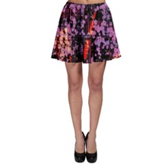 Abstract Painting Digital Graphic Art Skater Skirt