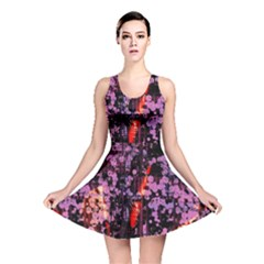 Abstract Painting Digital Graphic Art Reversible Skater Dress