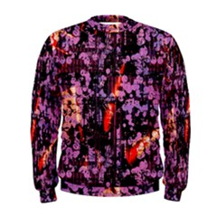 Abstract Painting Digital Graphic Art Men s Sweatshirt