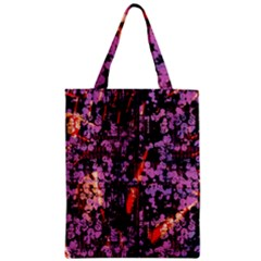 Abstract Painting Digital Graphic Art Zipper Classic Tote Bag