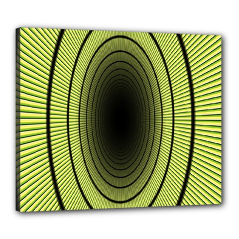 Spiral Tunnel Abstract Background Pattern Canvas 24  X 20