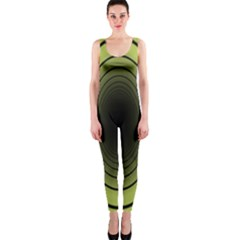 Spiral Tunnel Abstract Background Pattern OnePiece Catsuit