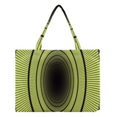 Spiral Tunnel Abstract Background Pattern Medium Tote Bag