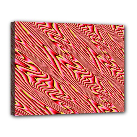 Abstract Neutral Pattern Canvas 14  X 11