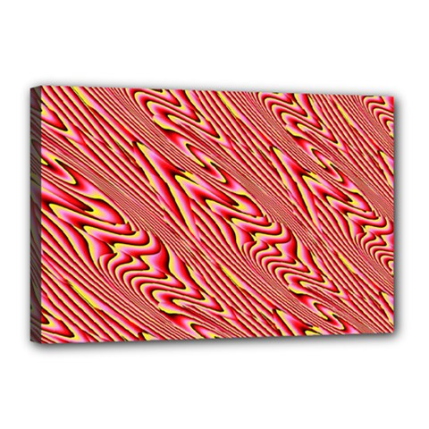 Abstract Neutral Pattern Canvas 18  X 12